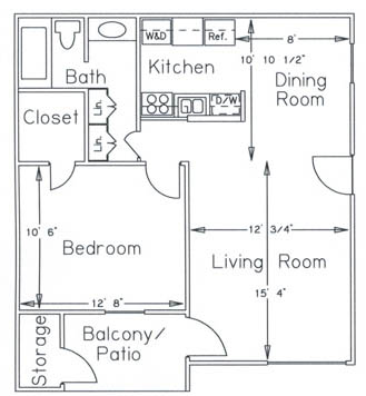 MH-1bed1bath660